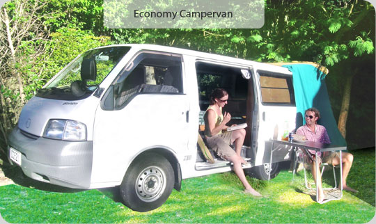 Economy Campervan Rental New Zealand